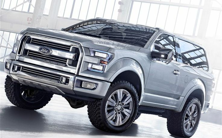 ford bronco concept | 2016 Ford SVT Bronco 1 Front Three Quarter