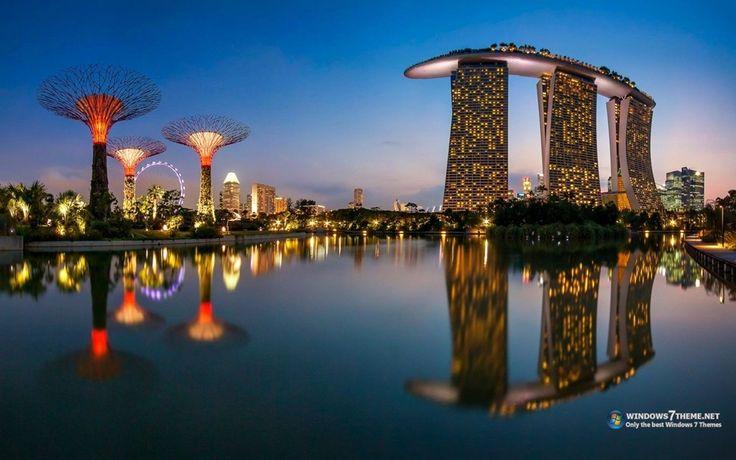 Marina Bay Sands Singapore Windows 7 Theme download - Baixaki
