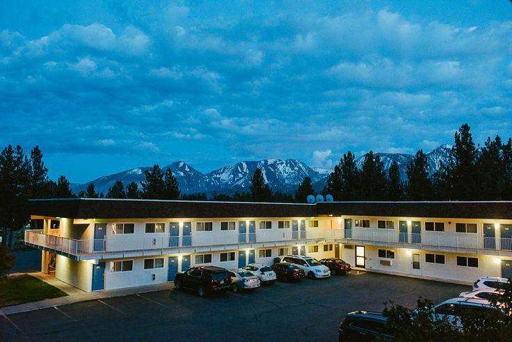 yosemite-nationalpark-california usa. Motel 6 in Mammoth Lakes