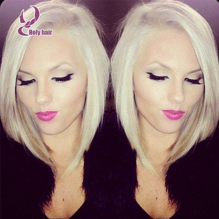 Best Full Lace Wig Blonde Glueless Short Cut Front Lace