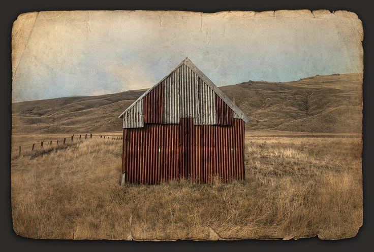 Rustic Retreat - photographer Nathan Secker - artprints available from www.imagevault.co.nz