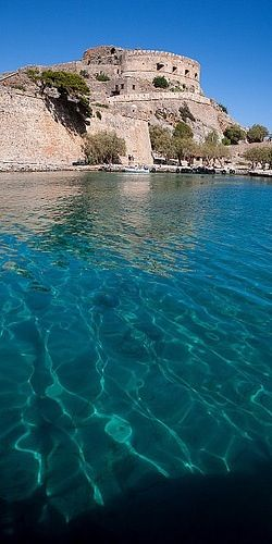 "#Spinalonga islet, #Elounda, #Crete.  There's a wonderful novel written by Beryl Barby which is based on true accounts and was published long before Hislop's ""The Island"". Beryl has actually written two books about the fascinating history of Spinalonga, ""Yannis"" & ""Anna"", along with a travel guide on the island."