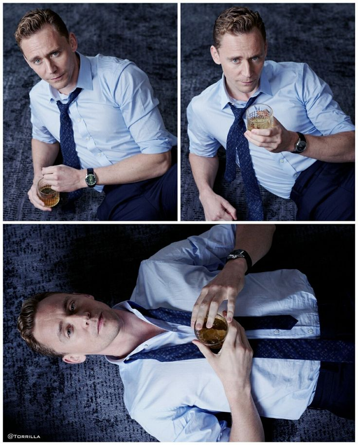 Tom Hiddleston by Charlie Gray.