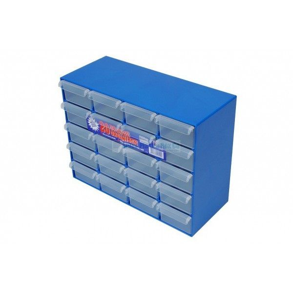 20 Drawer Organiser for more information go to plasticboxco.net.au