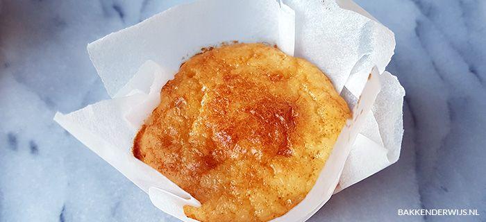 Koolhydraatarme muffins recept | Bakkenderwijs #bakken #muffin #cupcake #recept #koolhydraatarm