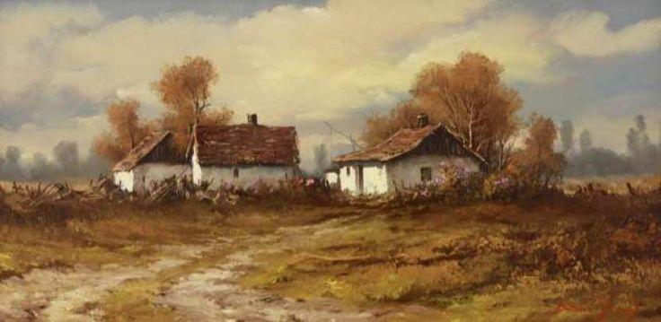 Bóna Jenő festmények   Aranyhíd Galéria-Tanyán