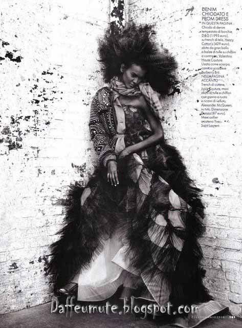 Model - Look....Fashion,,Style & Music.. : Liya Kebede (Ethiopian ...