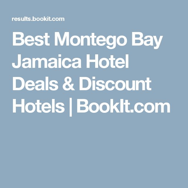 Best Montego Bay Jamaica Hotel Deals & Discount Hotels | BookIt.com
