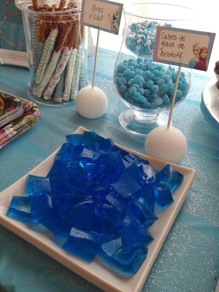 Comment faire une table sucrée (sweet table) version Reine des neiges!