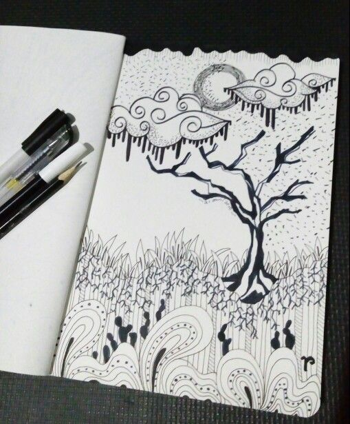 Waiting #day4 of 30 days project for this Ramadhan  #doodlelover #ramadhanmubarak #30daysofchallangehavefuninramadhan #dkvtrilogi #fiktrilogi #trilogi #indonesia