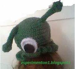cappello futurama lumaconi del cervello