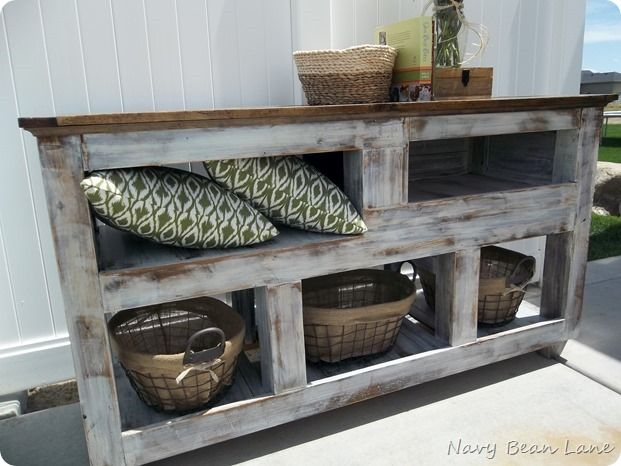 DIY Entertainment Center from Navy Bean Lane