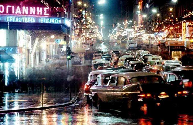 Αθήνα Δεκέμβριος 1960-Athens Dec. 1960