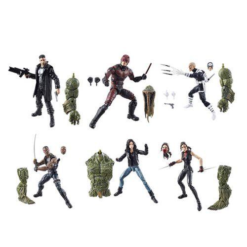Marvel Legends Netflix Marvel Knights 6 inch Action Figure Wave 1 Set