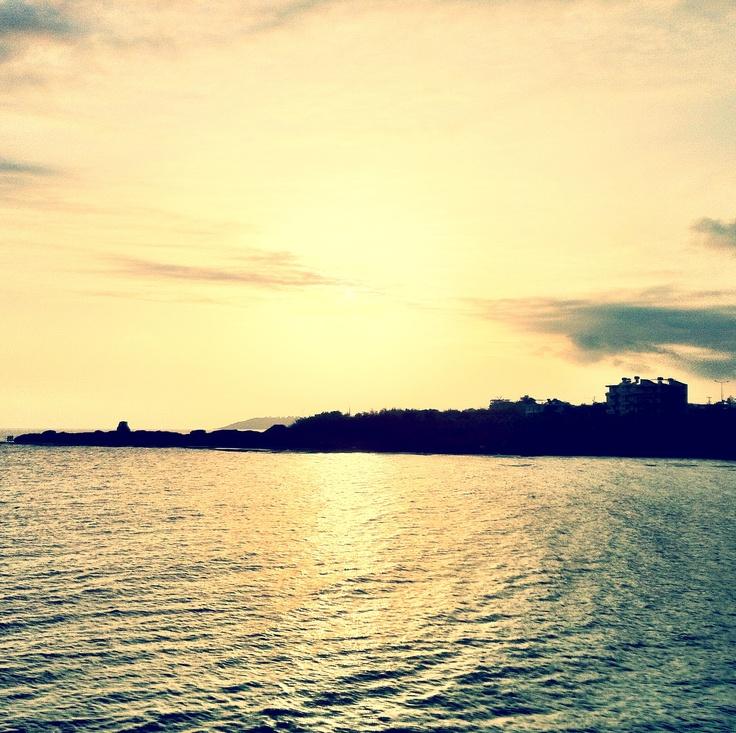 *entspannt mich*  Sonnenuntergang in der Türkei (Incekum)
