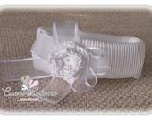 Fascia per capelli neonato da battesimo- BABY HEADBAND