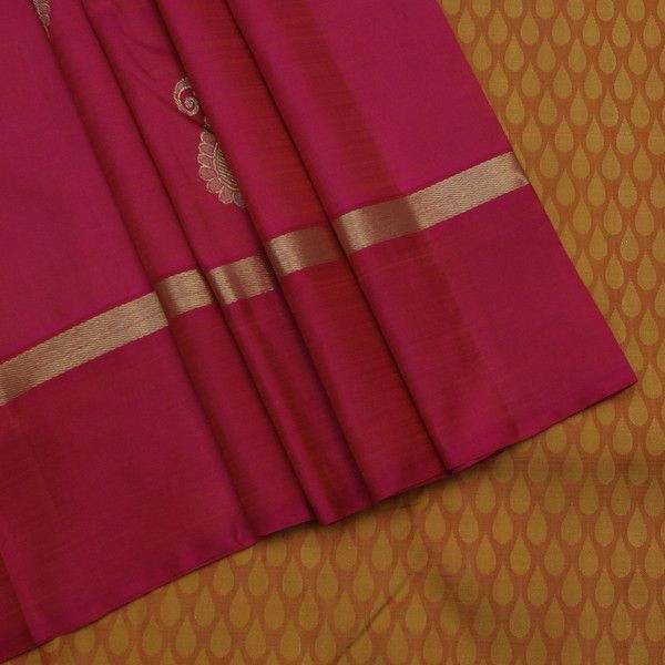 Sarangi Handwoven Kanjivaram Silk Saree - 350127276 | Sarangi * Feel Beautiful