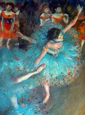Edgar Degas 1877-1879 #Art #PaintingArtists, Green Dancers, Ballerinas, Colors, Beautiful, Prints, Ballet, Edgar Degas, Painting