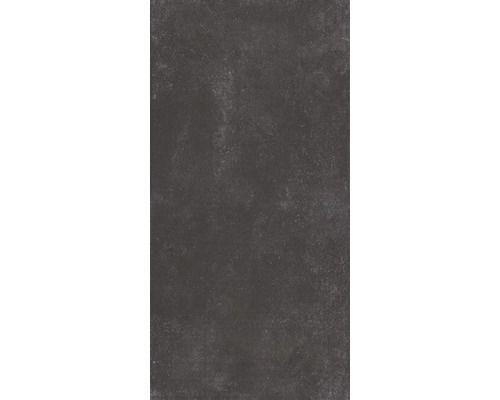 Feinsteinzeug Bodenfliese Novus Nero Anthrazit 30x60 cm