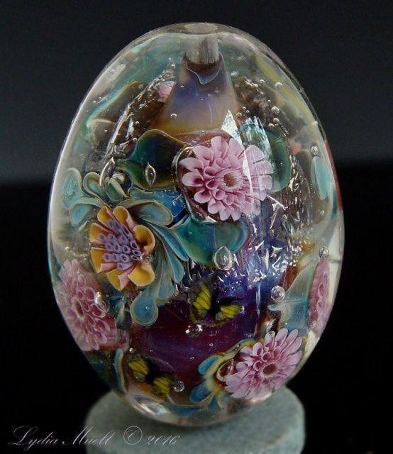 fine lampwork by lydia muell gallery of lampwork focal beads