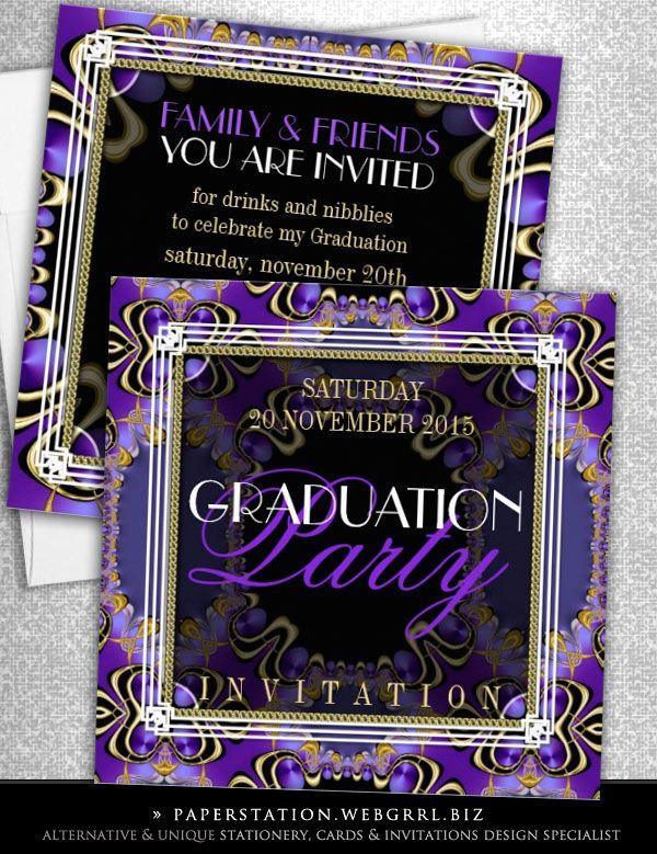 83 best Invitations Cards images – Zazzle Graduation Invitations