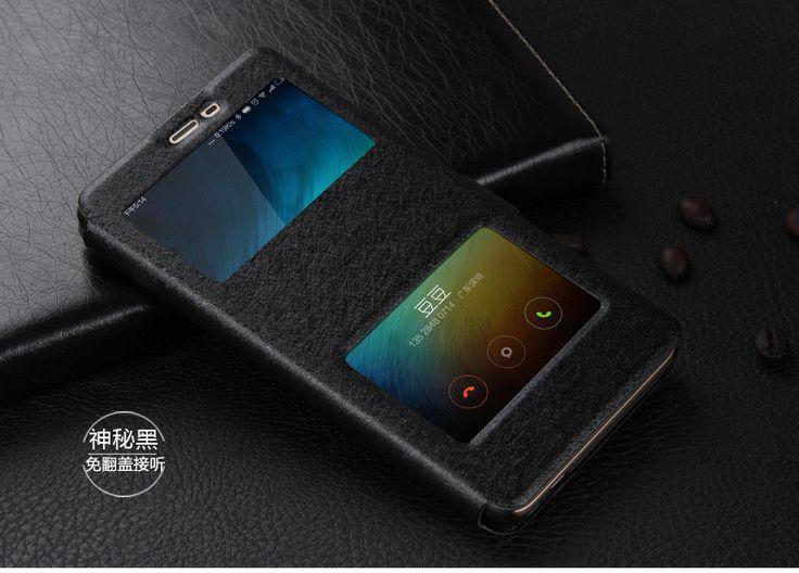 Redmi 3S Case Window View Flip Leather Wallet Cover Case For Xiaomi Redmi 3 S Pro 3X 3S Note 3 Pro Prime Touch Glass Cover Case