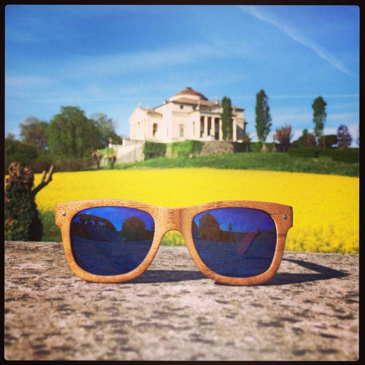 Raleri Ecolution in spring time. #sunglasses #eco #bamboo #eyeswear #fashion #raleri #vicenza #italy #palladio
