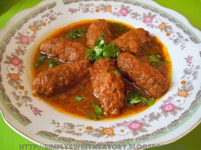Kabab curry