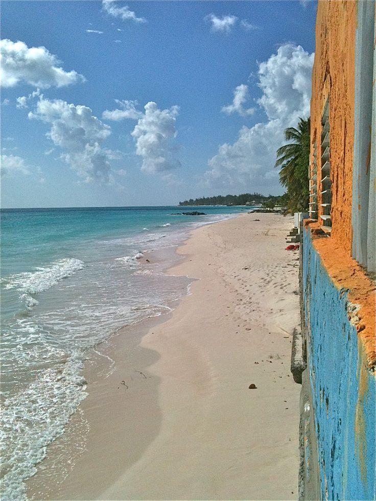 Barbadian beach