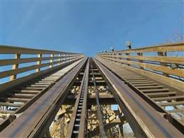 Check out Silver Dollar City's new wooden roller coaster with 3 INVERSIONS!!