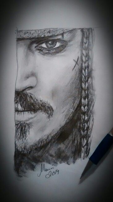 Johnny Depp drawing