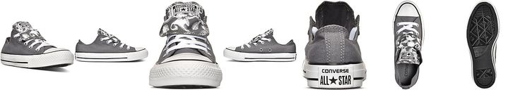 Converse Womens Chuck Taylor All Star Double Tongue Feather Casual Sneakers from Finish Line