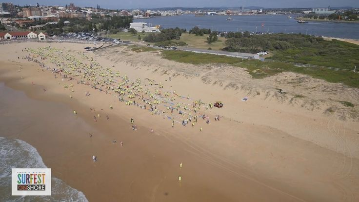 Newcastle World Record Attempt, Most amount of Surfboards on Nobby's Beach