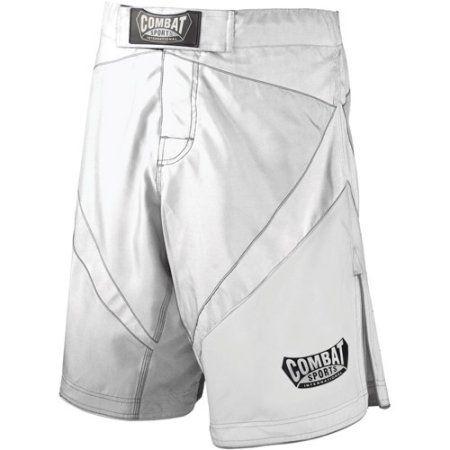 Combat Sports Fight MMA Boardshorts, Size: 40, White