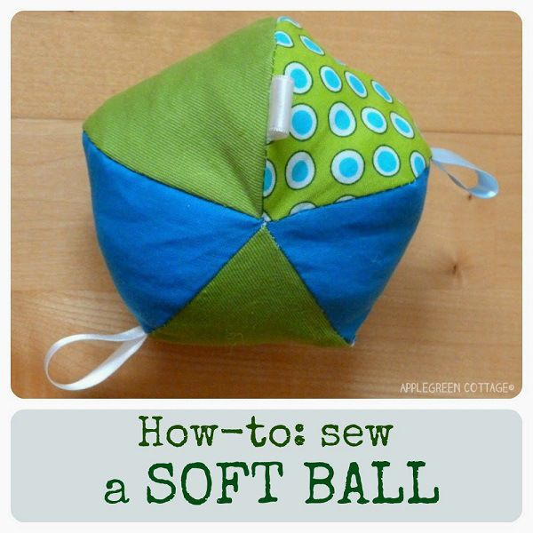 Tutorial: Naai een zachte stof bal speelgoed