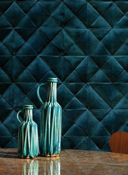 Wunderbar eklektisch: 3D Tapete Mis en plis von Elitis    #französisch #design