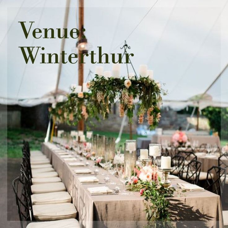 Winterthur is a beautiful venue for your wedding or event! #venue #ballroom #museum #reception #wedding #design #inspiration #outdoorwedding