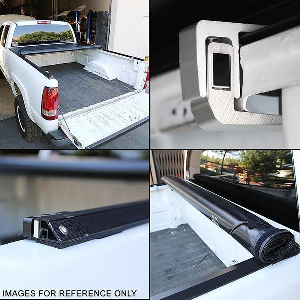 05 15 Toyota Tacoma Fleetside 6 Ft Truck Bed Soft Roll Up Tonneau Cover Tonneau Cover Truck Bed Trucks