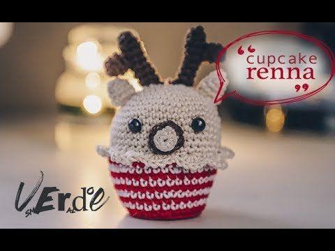 Renna Cupcake Amigurumi Schema Gratis Tutorial Uncinetto Natale