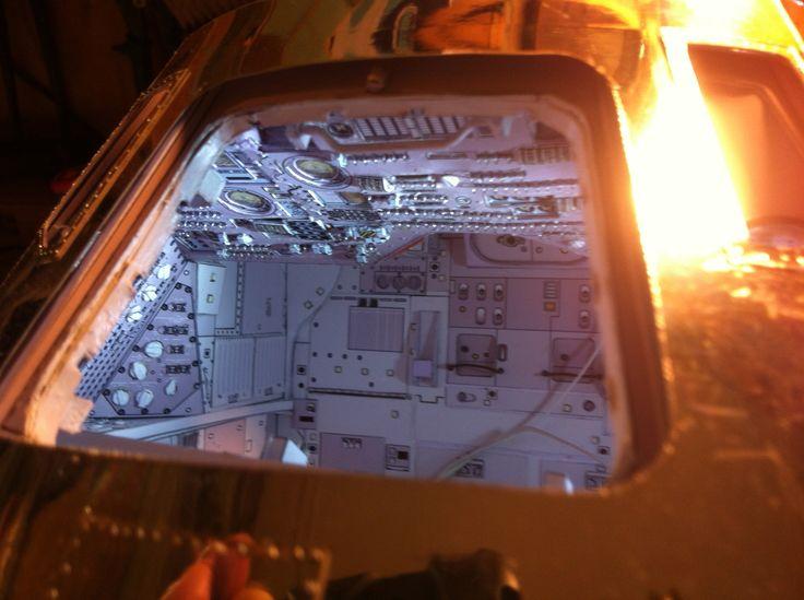apollo spacecraft paper model - photo #15
