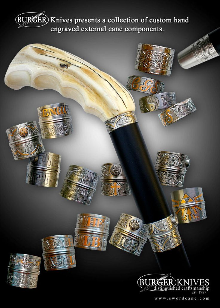 Welcome to the Official Web Site of Burger Sword Canes-Walking Sticks - How To Order A Custom Cane