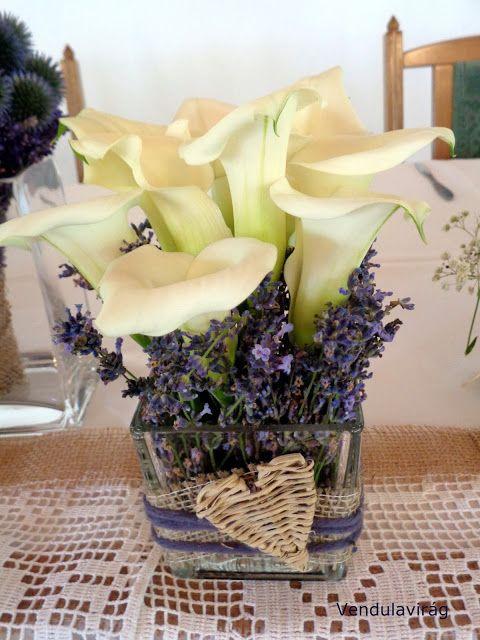 Vendulavirág Esküvőszervezés és dekoráció: Levendulaillatos esküvő