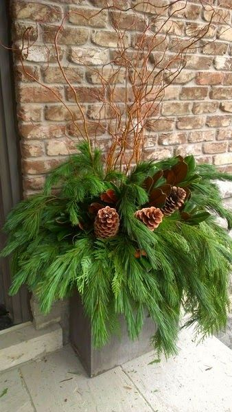 Ideas for Your Holiday Planters -  http://homechanneltv.blogspot.com/2014/12/holiday-planters.html