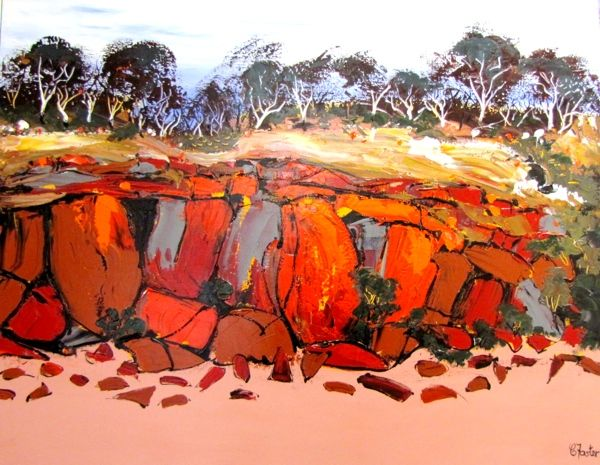 Red Rock Beach- carole foster art
