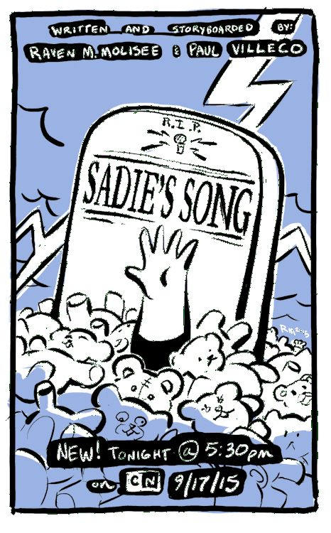 """Sadie's Song"" Poster"