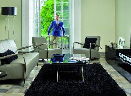 Zestaw wypoczynkowy: kanapa i fotel / sofa and armchair Kler Cherzo – I021