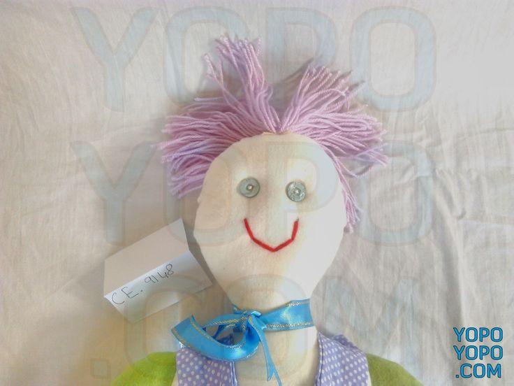 Oyuncak Bebek Erkek CE9148  Renk: Karma  Kumaş: Karma  İç Dolgu: Elyaf  Ebat: 60 cm  Fiyat: 30 TL  Açıklama: Saçı İp Püsküllüdür.  Kargo: Alıcıya Ait (Firmayı seçebilirsiniz)