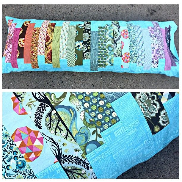 quilted body pillow cover. gorgeous!