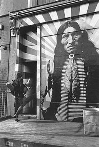 completely fantastic - Native American, Indian, street art