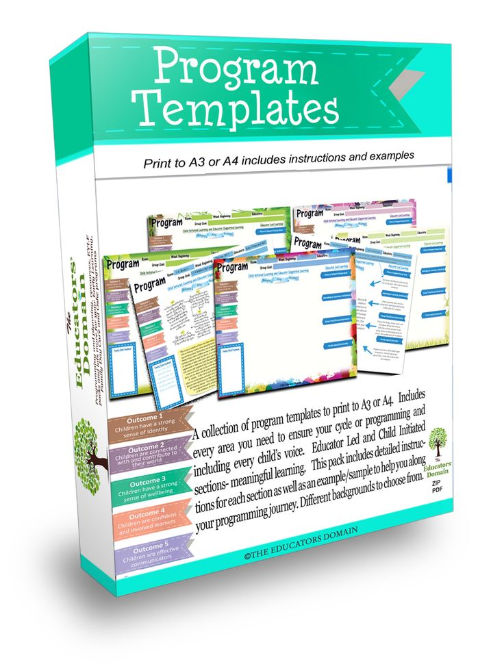 A collection of program templates to print to A3 or A4.  Includes a guide as well as examples.This programming pack  Includes every area you need to ensure your cycle or programming and  including eve...